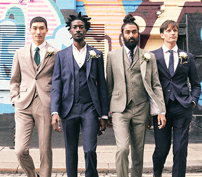 Grooms' outfit ideas for now